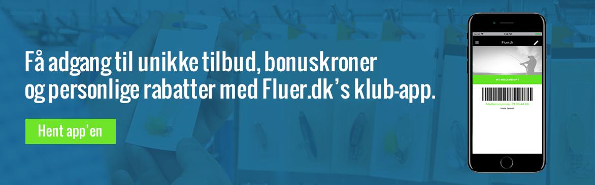 Få adgang til unikke tilbud, bonuskroner og personlige rabatter med Fluer.dk's klub-app.