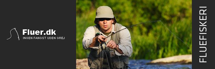 Billig fiskegrej til fluefiskeri