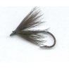 Black Hackle Silver size 10