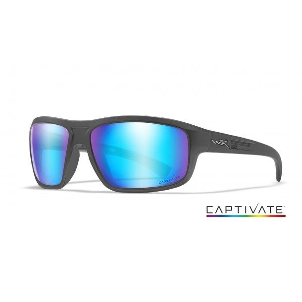Wiley-X CONTEND Captivate Blue Mirror Matte Graphite Frame