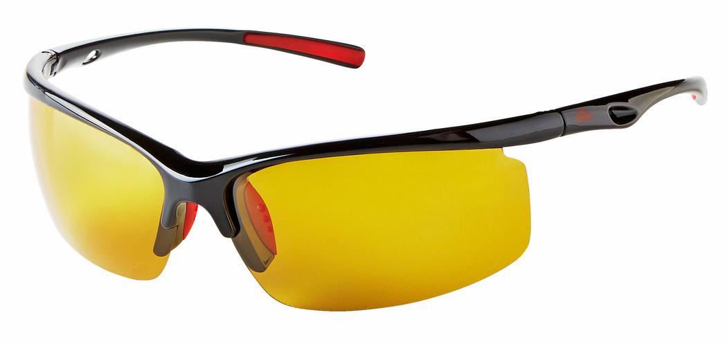 2402904f81ae Berkley Solbrille Polariseret Sort med Gule Linser - Solbriller til fiskeri  ...