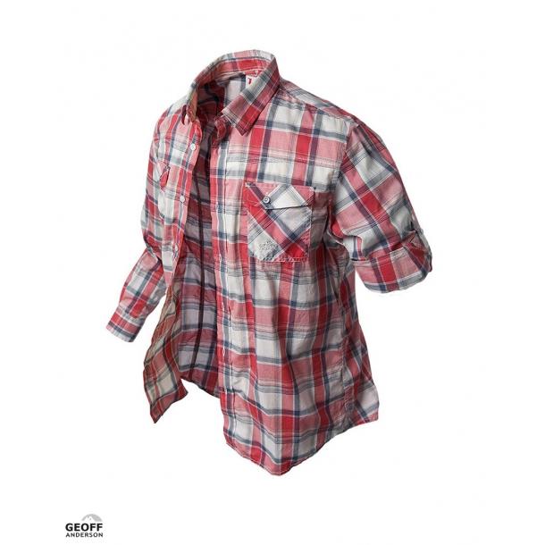 BF- Geoff Anderson Kortærmet Banga Skjorte Rød