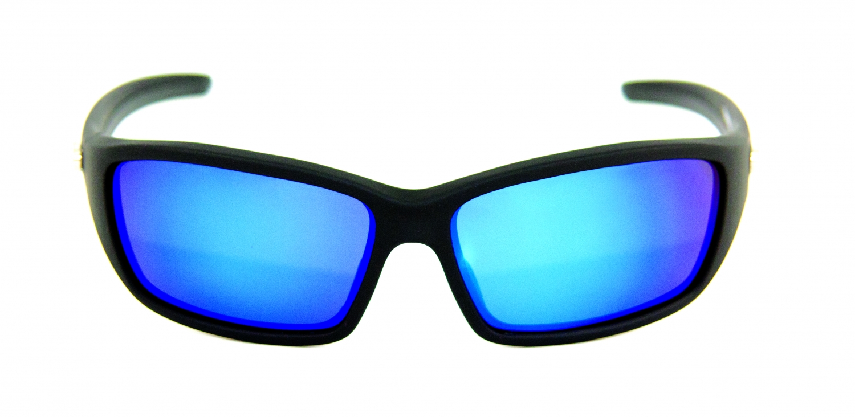 6204723e6743 Mustad Polaroid Solbriller HP107A-1 SMOKE BLUE REVO LENS ...