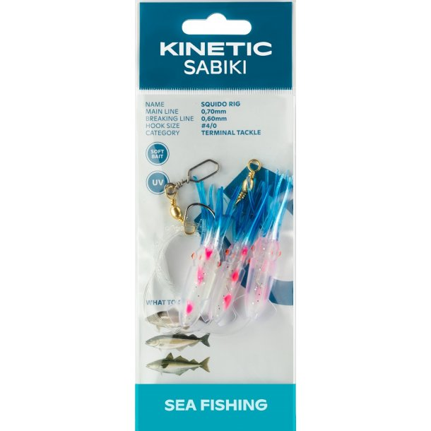 Kinetic Sabiki Squido Rig #4/0