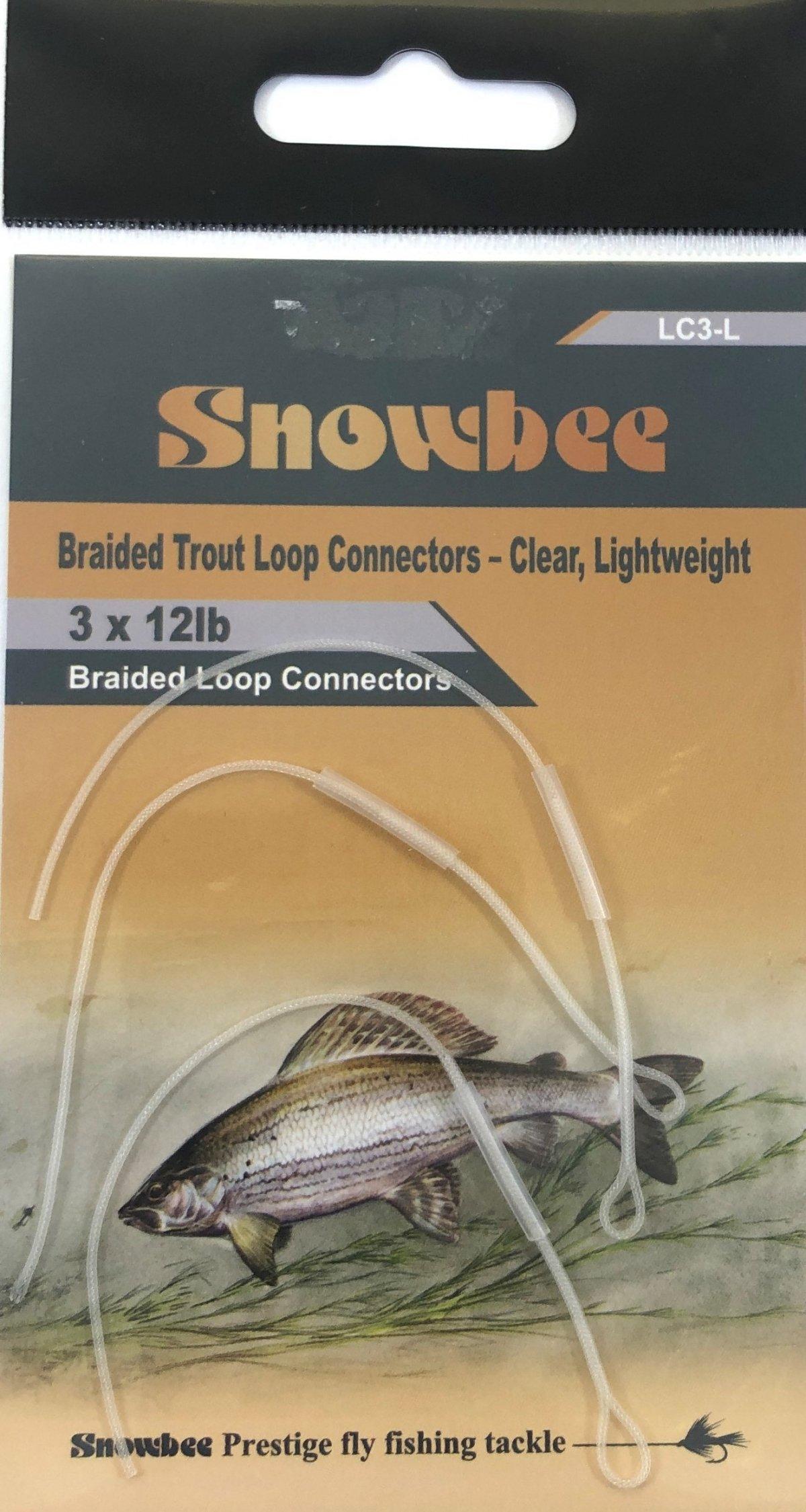 Snowbee Braided Lightweight Trout Loop Conectors