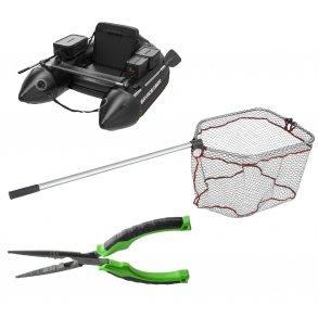 Net og tilbehør til Geddefiskeri