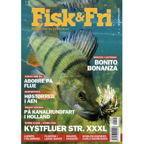 Fiskebøger, fiskefilm, fiskeblade